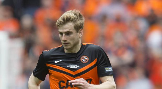 Burnley's bid for Stuart Armstrong was turned down by Dundee United