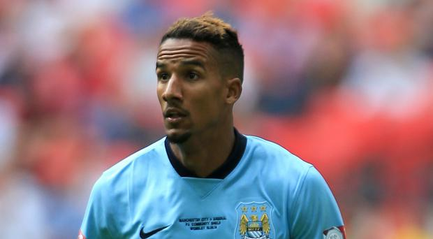 Manchester City's Scott Sinclair is set to complete a loan move to Aston Villa