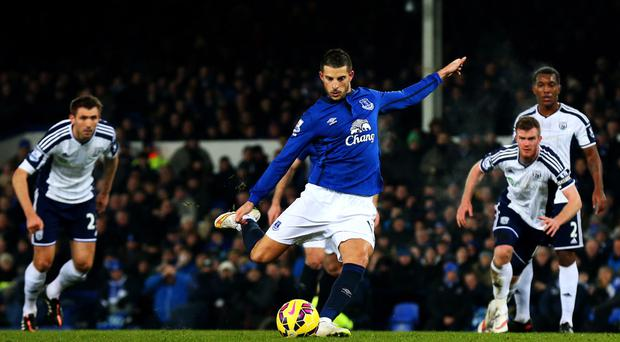 Kevin Mirallas is back for Everton