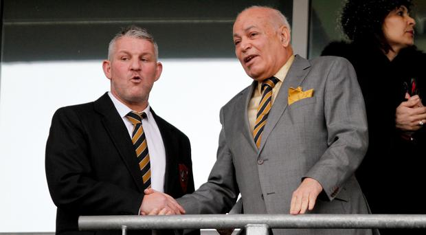 Former Hull forward Dean Windass, left, is set to take up a new role as the club's official ambassador