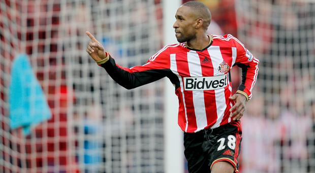 Jermain Defoe scored Sunderland's second goal