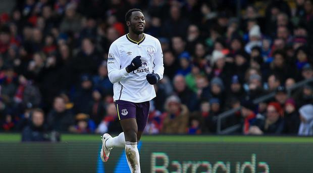 Everton's Romelu Lukaku netted the winner at Selhurst Park against Crystal Palace