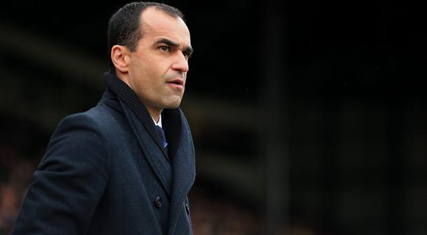 Worried: Roberto Martinez is coming under increasing pressure