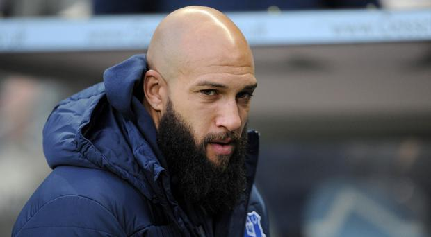 Tim Howard is ready to return to action for Everton at Chelsea on Wednesday