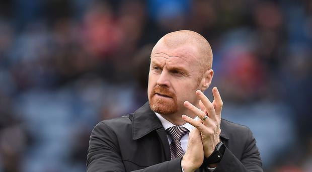 Burnley manager Sean Dyche insists he will stay positive despite Saturday's 1-0 home defeat to Swansea