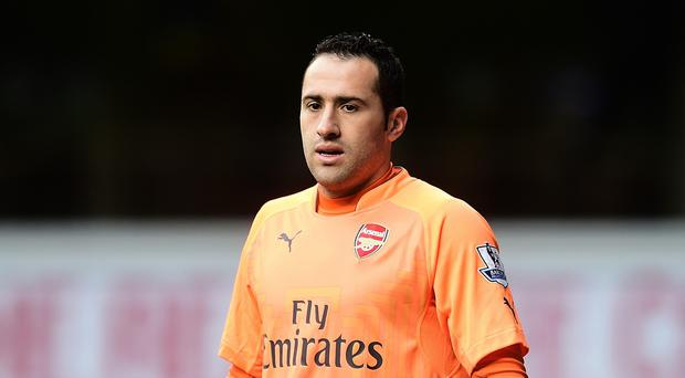 David Ospina is concentrating on Arsenal rather than thinking about Manchester City