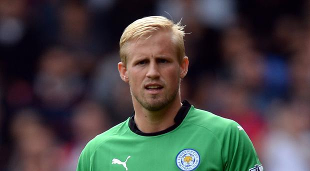 Leicester goalkeeper Kasper Schmeichel is on the verge of a return from injury