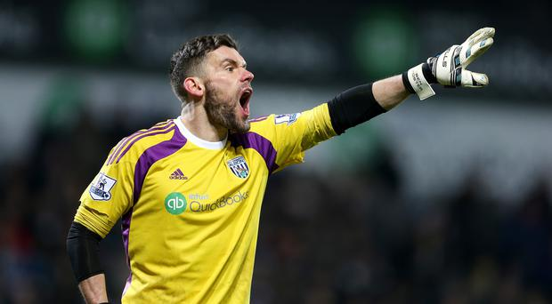 Ben Foster has not been guaranteed a start at the weekend