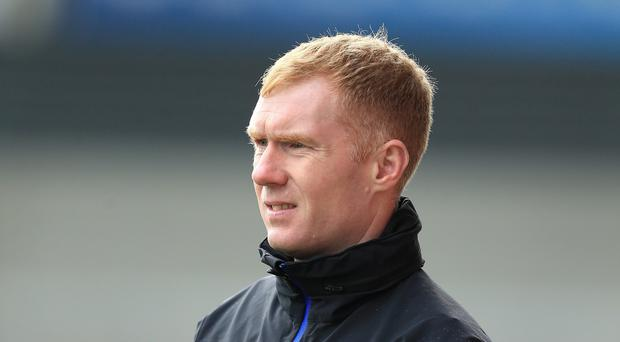 Paul Scholes described the Oldham post as