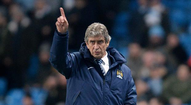 Manchester City manager Manuel Pellegrini, pictured, insists he has a future at the club