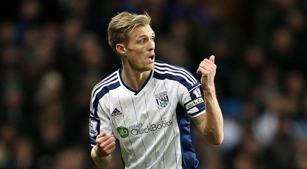 Boss Tony Pulis believes Darren Fletcher, pictured, has been key to West Brom's revival