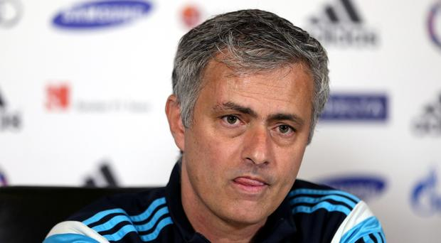 Chelsea manager Jose Mourinho thought his side were wrongly denied a penalty in their draw against Southampton