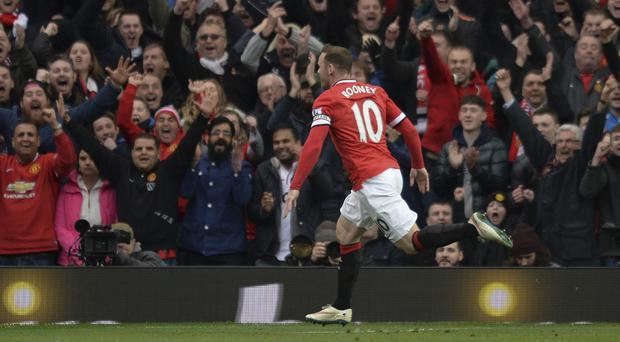 Wayne Rooney scored the final goal at Old Trafford