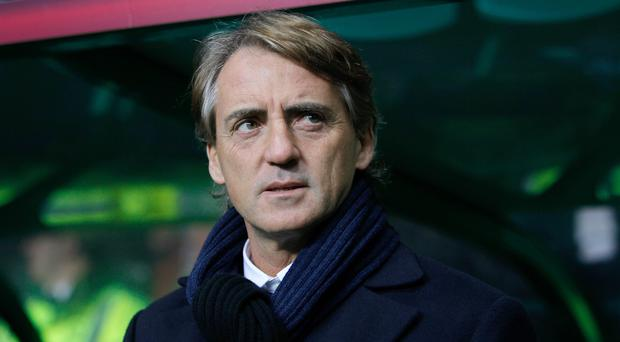 Former Manchester City manager Roberto Mancini believes successor Manuel Pellegrini should be winning titles