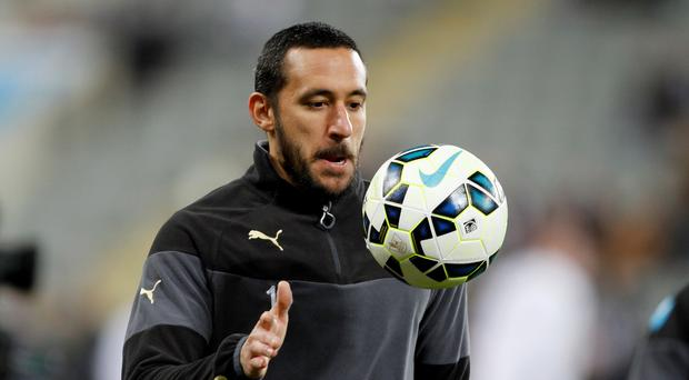 Jonas Gutierrez is ready to answer Newcastle's call in their hour of need