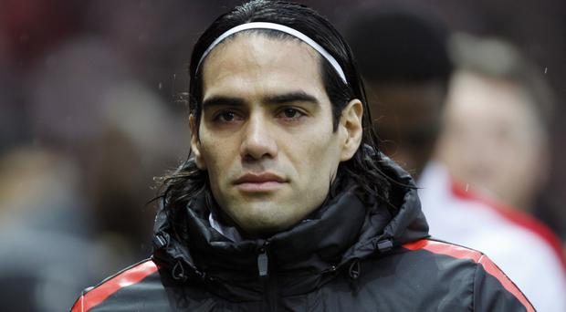 Radamel Falcao's former agent says the player has been reduced to tears by his Manchester United struggles