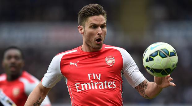 Arsenal striker Olivier Giroud is targeting a perfect finish to the Barclays Premier League season