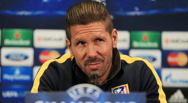 Manchester City have denied any interest in Atletico Madrid manager Diego Simeone