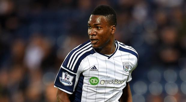 Brown Ideye has scored seven goals for West Brom this season following his summer switch from Dynamo Kiev