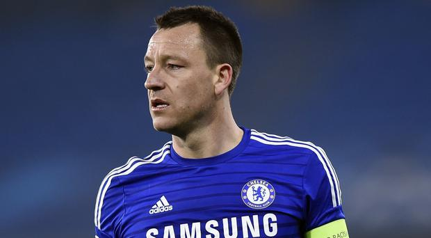 John Terry, pictured, hailed the determination of Chelsea boss Jose Mourinho to succeed