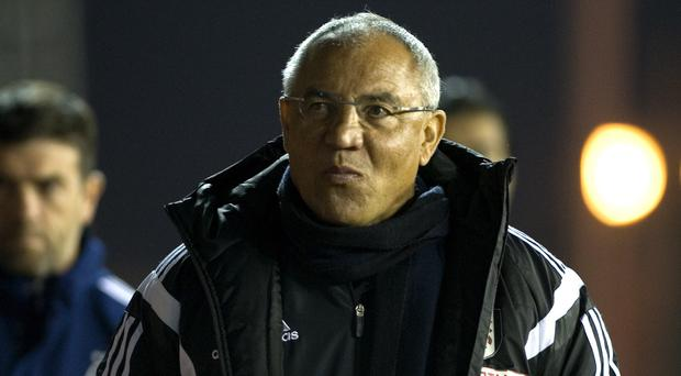 Felix Magath's time at Fulham was ill-fated and came to an end in September