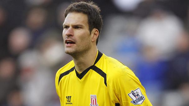 Stoke chief executive Tony Scholes is confident they can keep hold of Asmir Begovic, pictured