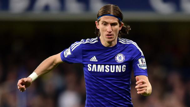 Chelsea defender Filipe Luis insists he does not want to leave Stamford Bridge this summer