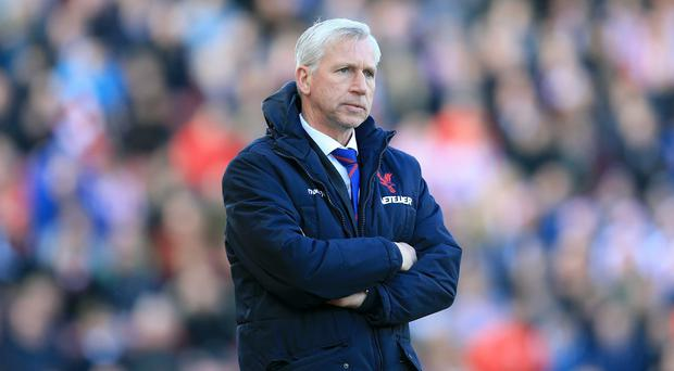 Alan Pardew wants Crystal Palace to aim high next season