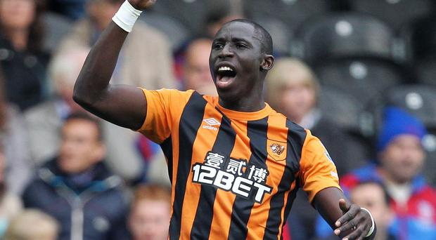 Mohamed Diame will return for Hull on Saturday