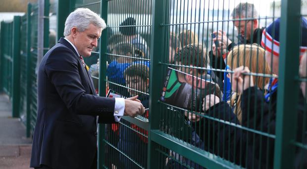 Mark Hughes believes Stoke can keep on improving