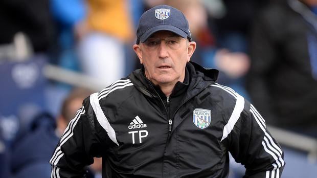 West Bromwich Albion manager Tony Pulis is up for the job ahead