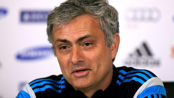 Jose Mourinho, pictured, was relaxed over Greg Dyke's plans on home-grown players