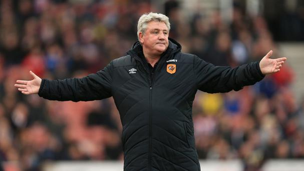 Steve Bruce's Hull are just three points above the relegation zone