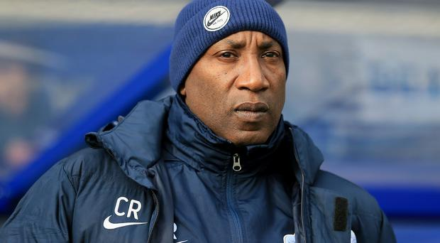 Chris Ramsey's side are three points behind Aston Villa, who they face on Tuesday