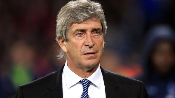 Manuel Pellegrini's Manchester City were defeated at Crystal Palace