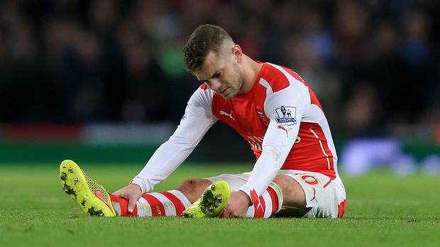 Arsenal midfielder Jack Wilshere hopes he is closing in on a first-team return