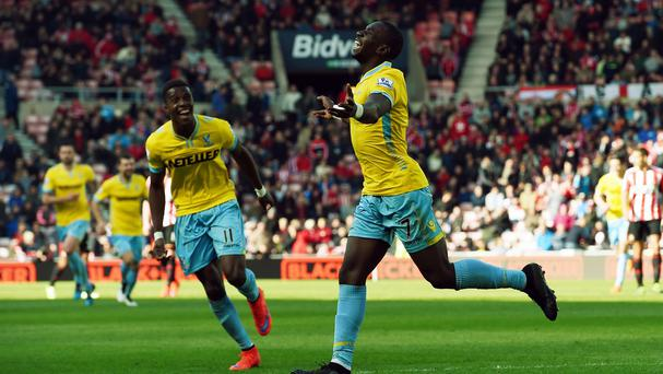 Yannick Bolasie was at his brilliant best after the break