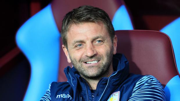 In the dark: Aston Villa manager Tim Sherwood is unaware of talk of a takeover