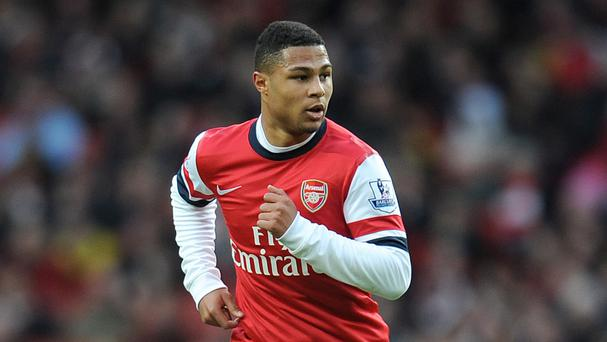 Arsenal's Serge Gnabry is closing in on a first-team return