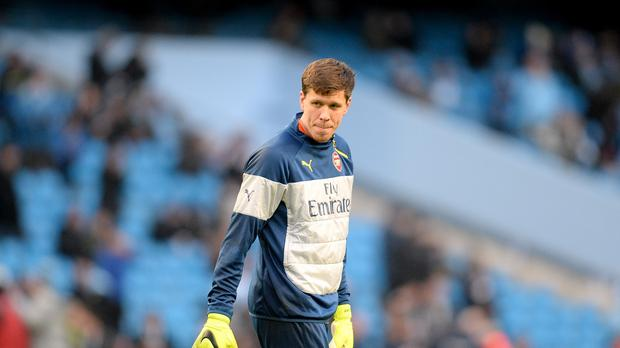 Arsenal goalkeeper Wojciech Szczesny, pictured, is set to play in the FA Cup semi-final against Reading at Wembley.