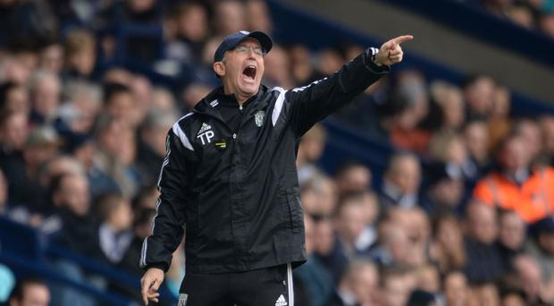 West Brom head coach Tony Pulis saved Crystal Palace from relegation last season before quitting in August