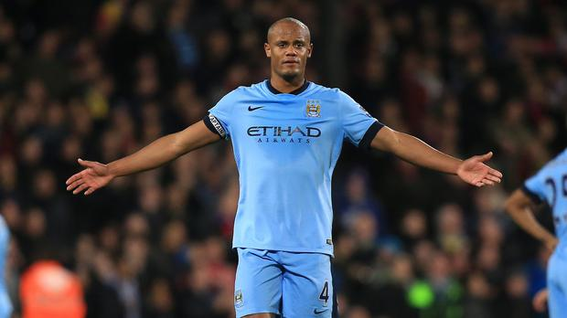 Vincent Kompany's season could be over