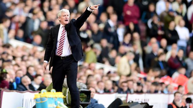 Stoke boss Mark Hughes, pictured, has dismissed the latest reports linking Asmir Begovic with a move away