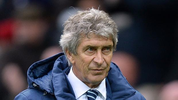 Manuel Pellegrini continues to defend his tactics