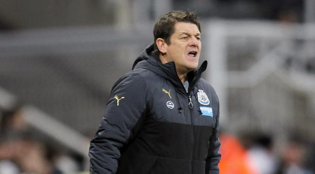 John Carver is now focused purely on results, not performances