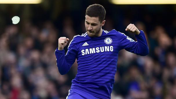 Eden Hazard says his main objective since joining Chelsea in 2012 is to win the Premier League title