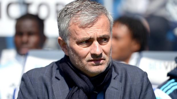 Chelsea manager Jose Mourinho, pictured, once again paid tribute to Eden Hazard