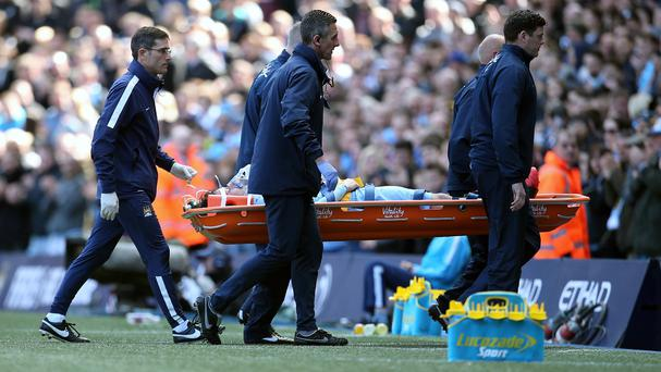 Manchester City have confirmed David Silva did not suffer any fractures after being carried off against West Ham
