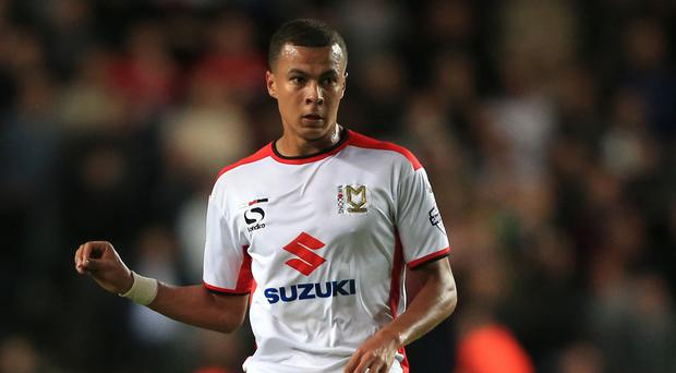 MK Dons' Dele Alli believes joining Tottenham is the