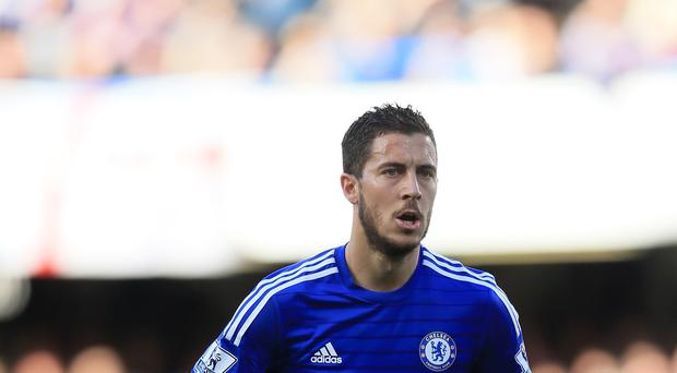 Chelsea's Eden Hazard, pictured, received praise from Zinedine Zidane